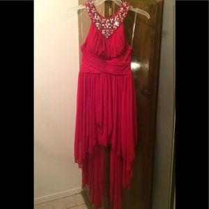 HIGH LOW 18 DRESS OBO